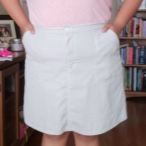 Cherokee Skirts - 18W Light Gray Skort